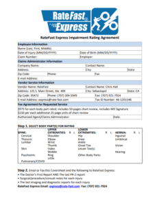 RateFastExpress cover page